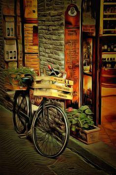Village Street - Dynamic Auto Painter Pro 4.