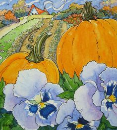 Pumpkins and Pansies Storybook Cottage Series