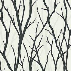 Wallpaper Designer Black White on White Modern Tree Silhouette Trees Branches The Wallpaper and Border Store http://www.amazon.com/dp/B00M7IQ5M0/ref=cm_sw_r_pi_dp_yeYgvb1EB2Q8J