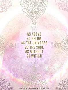 As Above so Below Art Print ~ Amethyst and the Moon