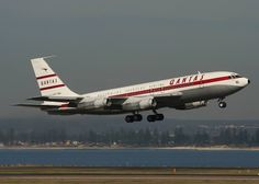 Boeing 707 rotated in Sydney back in 2007.  She now sits in Longreach, QLD. — at Sydney Airport.