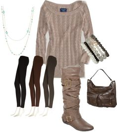 """""""No nonsense Leggings Outfit"""" by mommieswithcents on Polyvore"""