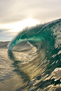 glass surf waves. I always wonder how i can witness this w/o it wiping me out as well... if only i can surf