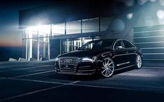 Cool Audi: Nice Audi: Audi A8, luxury cars, sedans, night, headlights, black a8, Audi...  R...  Cars 2017 Check more at http://24car.top/2017/2017/04/25/audi-nice-audi-audi-a8-luxury-cars-sedans-night-headlights-black-a8-audi-r-cars-2017/