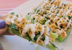 Blue Cheese Buffalo Chicken and Spinach Stuffed Celery (FTDI) MooMoo Jackson Style