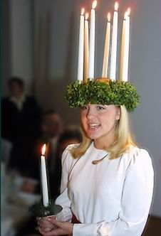 Beautiful site sharing traditions, songs and food associated with St. Lucy Day in Scandinavian countries.