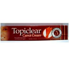 Topiclear Carrot Cream Skin lightening Cream 176 oz >>> Check this awesome product by going to the link at the image.