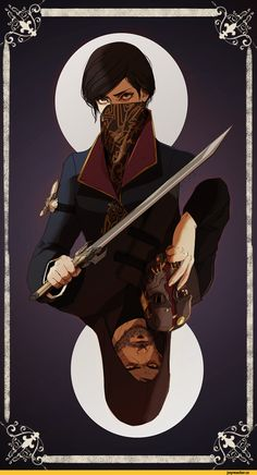 Dishonored 2, Dishonored, Games, Emily the Witch, Corvo Attano, ayiwasdead