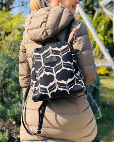 Black Backpack, Leather Backpack, Black And White Backpacks, Make A Gift, Hobo Bag, Black Cotton, Drawstring Backpack, Ethnic, Bohemian