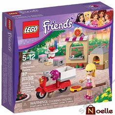 Lego Friends PIZZERIA STEPHANIE 87 el. (41092)