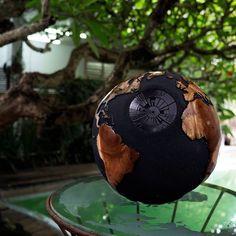 Death star Globe by Bruno Helgen hbglobes