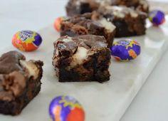 Cadbury Creme Egg Brownies Recipe