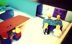 scenarios and storyboards with lego for service design