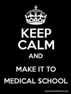 Make it to med school