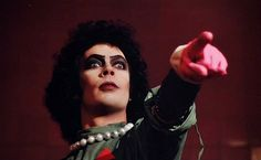 Having Some Fun Rocky Horror Show, The Rocky Horror Picture Show, Mickey Tattoo, Color In Film, Tim Curry, Fantasy Comics, My Spirit Animal, Have Some Fun, Movies Showing