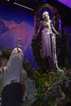 Harrods #Disney #Christmas Windows - #Rapunzel by Jenny Packham