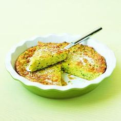 Zucchini Pie | MyRecipes.com  Use recipe as is for casserole and drain water from zucchini for more of a bread consistency.
