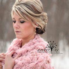Horgolt esküvői vállkendő 6 Crocheted bridal shawl,shrag 6