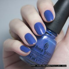 China Glaze Fancy Pants www.chelseasgetnailed.com