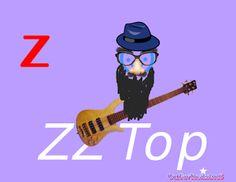 Gone To Texas: My Texas Alphabet: Z for ZZ Top
