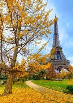 Autumn in Paris, France