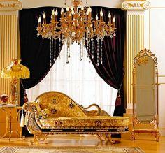 Gold Crystal Chandelier For Bedroom
