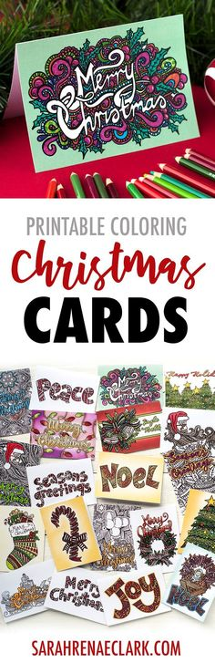 Ideas Diy Christmas Cards For Teachers Paper Crafts Christmas Printable Activities, Printable Crafts, Family Activities, Free Printables, Messages For Friends, Holiday Messages, New Year's Crafts, Paper Crafts, Adult Crafts