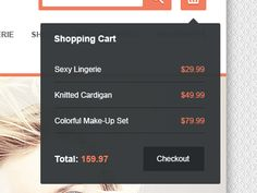 simple shopping cart