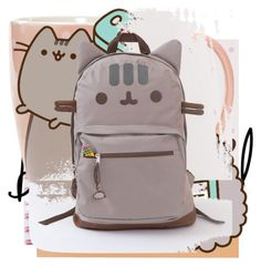 """#PVxPusheen"" by sj-nash ❤ liked on Polyvore featuring Pusheen, contestentry and PVxPusheen"