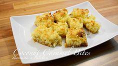 Coconut Caramel Bites - ناریل کیریمل - नारियल कारमेल - Humaira's Kitchen