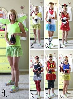 Love the Incredibles costume,  costumes for running - I am making my mom a costume for her next Disney marathon. :)