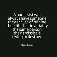 """A narcissist will always have someone they accuse of """"ruining their life."""" It is invariably the same person the narcissist is trying to destroy. Narcissistic People, Narcissistic Mother, Narcissistic Behavior, Narcissistic Sociopath, Narcissistic Personality Disorder, Verbal Abuse, Emotional Abuse, Abusive Relationship, Toxic Relationships"""