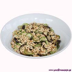 Auberginen-Zucchini-Salat