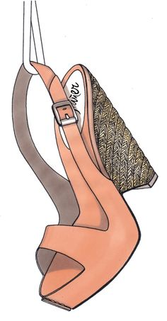 SHOE ILLUSTRATION :: Castaner 2007-2008 - by Lisa Bozzato