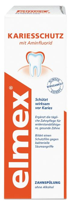 -in USA- Elmex Anti-Cavity Mouthwash - 500 ml -