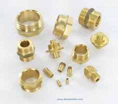 We are manufacturing Brass Turned Components  , Brass Parts from India.