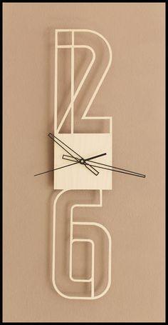 Picture of Typographic clock