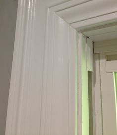 Layered door and window trim molding