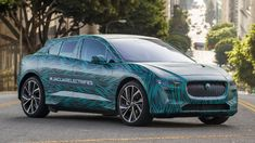 Jaguar announces a reveal date for the production I-Pace electric crossover along with fast charging stats - Autoblog