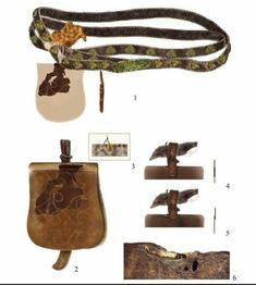 Belt Bags, Belt Pouch, Medieval Belt, Early Middle Ages, Leather Totes, Larp, Vikings, Baskets, Objects