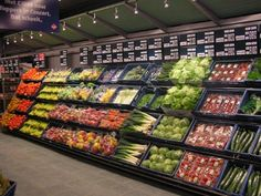 Supermarket Design | Produce Areas | Retail Design | Shop Interiors | Groene smoothie maken
