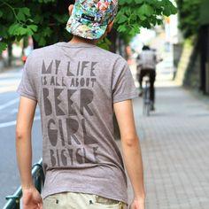 beer+girl+bicycle = simple