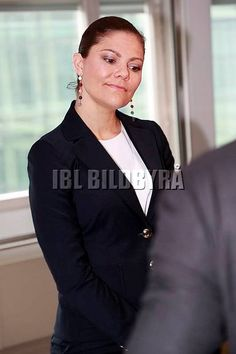 Crown Princess Victoria attended the annual meeting of The Swedish Leadership for Sustainable Development