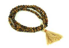 """Náramok """"spirit"""" z tigrieho oka Tassel Necklace, Beaded Bracelets, Tassels, Jewelry, Jewlery, Jewerly, Pearl Bracelets, Schmuck, Jewels"""