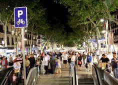 Barcelona, famosa rua La Rambla!