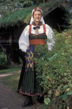 Beltestakk, ca. Folk Costume, Costumes, Strange Flowers, Weird World, World History, Norway, Ethnic, Cosplay, Culture