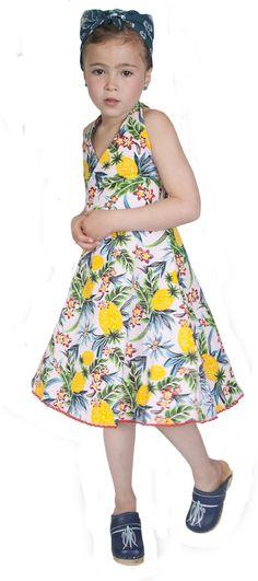 www.Mini-mei.com/eng - Cajsa dress hawai flower