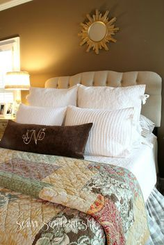 Savvy Southern Style: Cozy In The Master