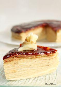 Gâteau de crêpes amandine spéculoos