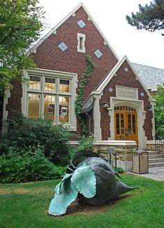 Historic Sugarhouse library with sculpture of the area's trademark sugarbeet. Utah Adventures, Salt Lake City Utah, Slc, Places To See, Nostalgia, Childhood, America, Memories, Spaces